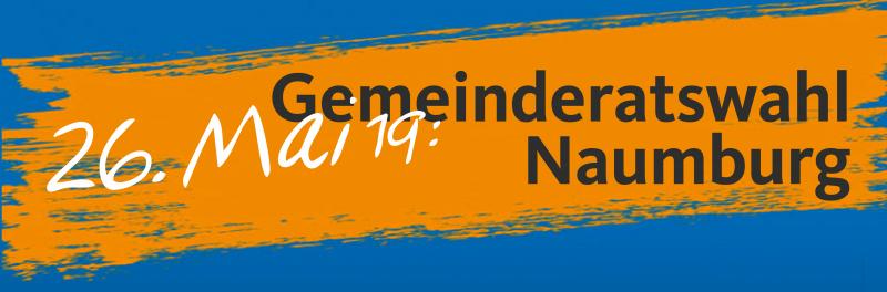 Gemeinderatswahl Naumburg am 26. Mai 2019